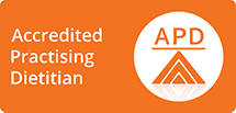 Accredited Practising Dietitian - APD Logo